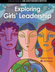 Exploring Girls' Leadership (2007) - Girl Scouts of the USA