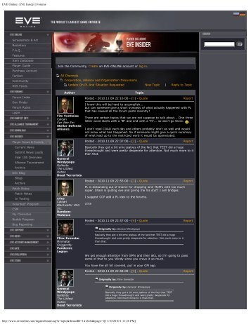 EVE Online | EVE Insider | Forums - EVE Files