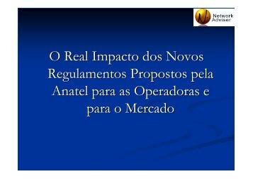 O Real Impacto dos Novos Regulamentos Propostos pela ... - IPNews