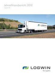 Logwin AG - Jahresfinanzbericht 2010