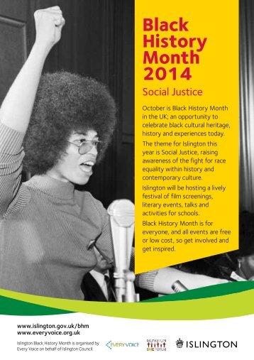 Islington-Black-History-Month-Festival-20141