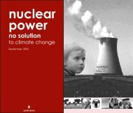 Nuclear Power No Solution to Climate Change - Australian ...