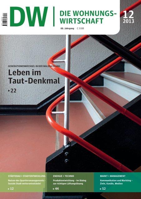 Leben im Taut-Denkmal 12 2013 - Haufe.de