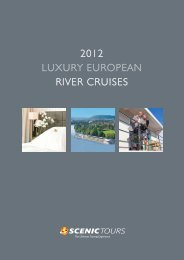 2012 LUXURY EUROPEAN RIVER cRUISES - Scenic Tours