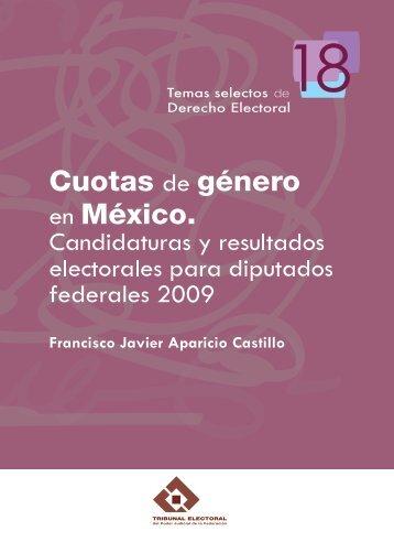 Cuotas de género en México. Candidaturas y resultados electorales ...