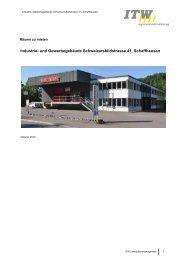 Industrie- und Gewerbegebäude Schweizersbildstrasse 41 ...