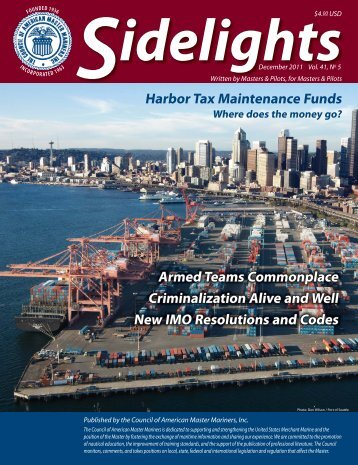 December 2011 Issue - Council of American Master Mariners