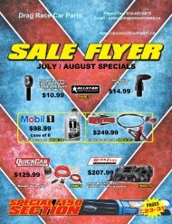 July-August-DRCP Sales Flyer