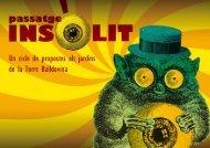 Passatge Insòlit - Ajuntament de Santa Coloma de Gramenet