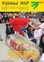 Wijkblad St. Wijkbeheer MSP, ed 3, 2012 - Mijn MSP