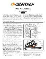 PRO HD WEDGE - Celestron
