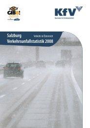 Salzburg Verkehrsunfallstatistik 2008