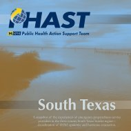 PHAST South Texas Hi-Res - Office of Public Health Practice