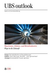 Maschinen-, Elektro- und Metallindustrie Wege in die Zukunft