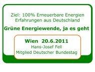 Auf alle Felle 100% Erneuerbare Energien