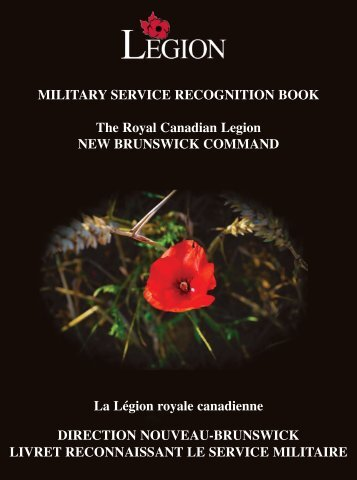 afghanistan - Royal Canadian Legion New Brunswick Command