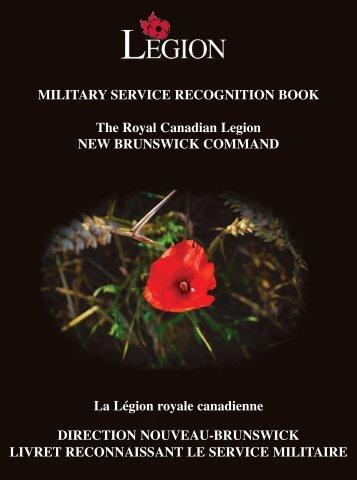 afghanistan - Royal Canadian Legion New Brunswick Command