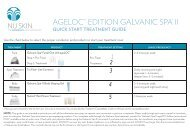 AGELOC™ EDITION GALVANIC SPA® II - Nu Skin