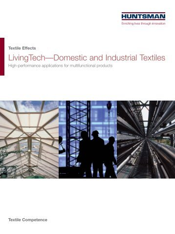 LivingTech—Domestic and Industrial Textiles