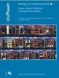 Neues urbanes Wohnen in Baugemeinschaften - Gat