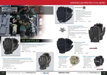 Damascus protective gear - Chief Supply
