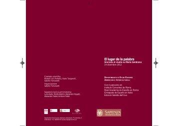 Programma - Instituto Cervantes