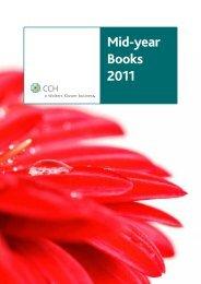 Mid-year Books 2011 - CCH Australia