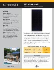 SunPower 225 Solar Panel