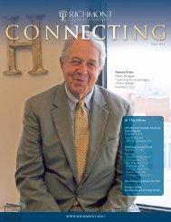 Richmont_Fall 2012:PSI newsletterFall06.qxd - Richmont Graduate ...