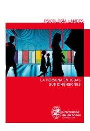 PSICOLOGÍA UANDES - Universidad de los Andes