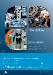 brochure TPA Italia - Assofluid