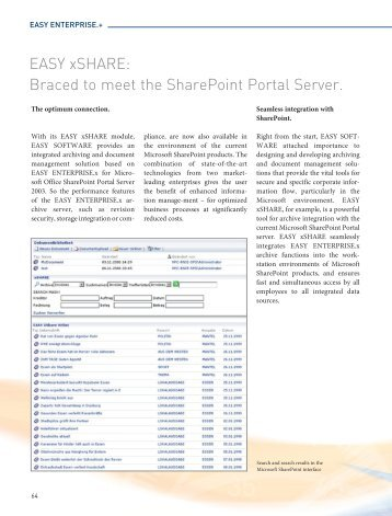 Easy Xshare Braced To Meet The Sharepoint Portal Datamation