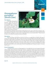 Harpagophytum procumbens (Devil's Claw) - Thorne Research