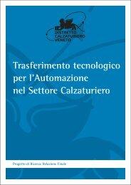 Trasferimento tecnologico per l'Automazione nel Settore Calzaturiero
