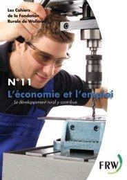 N°11 L'économie et l'emploi - Fondation rurale de Wallonie