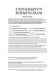 Extenuating Circumstances medical form (PDF - 79KB)