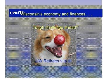 UW Retirees 5.18.10