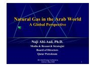 Natural Gas in the Arab World - OAPEC