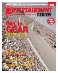 August, 2004 - Inland Entertainment Review Magazine