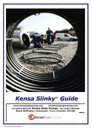 Kensa Slinky® Guide - Artizan Heating