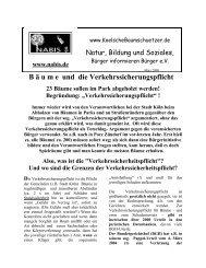Flugblatt - NABIS e.V.