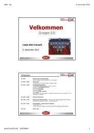 Registrering og opfølgning på afvigelser - Lasse Ahm Consult