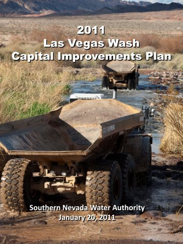 Las Vegas Wash Capital Improvements Plan, January 2011
