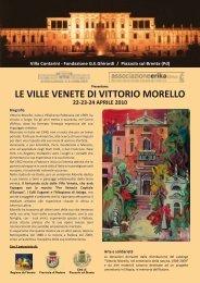Le Ville Venete di Vittorio Morello (Fronte) - Villa Contarini