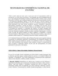 TEXTO-BASE DA CONFERÊNCIA NACIONAL DE ... - Cultura Digital