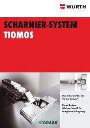Scharnier-System Tiomos - Würth