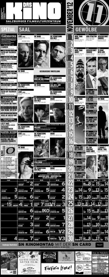 Programm herunterladen - Das Kino
