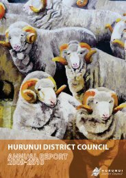 Annual Report 2009-2010 - Hurunui District Council