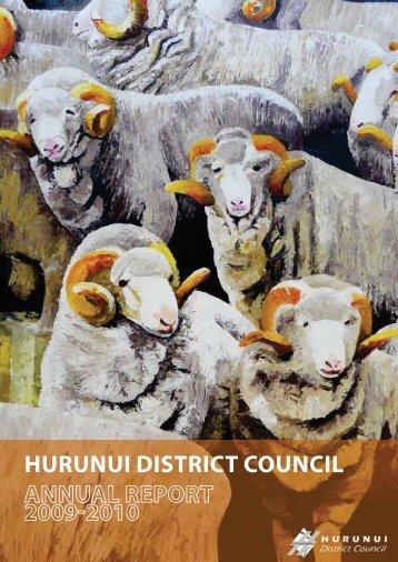 Annual Report 2009-2010 - Hurunui District Council