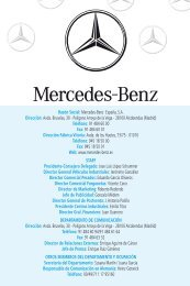 Razón Social: Mercedes-Benz España, SA